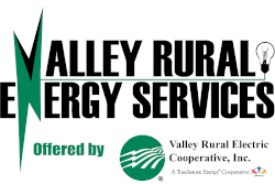 Valley Rural Energy Services offered by Valley Rural Electric Cooperative