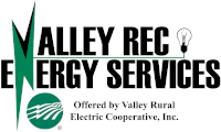 Valley REC Energy Services, offered by Valley Rural Electric Cooperative, Inc.