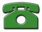 A green telephone